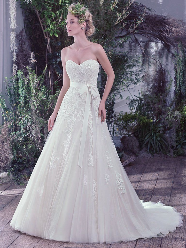A-line wedding dresses by Maggie Sottero, Sottero and Midgley and Rebecca Ingram - Lindsey by Maggie Sottero