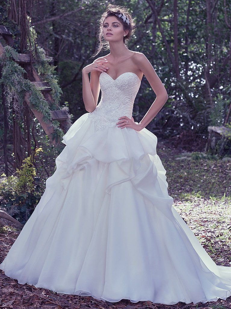 Ball gown wedding dresses by Maggie Sottero, Sottero and Midgley and Rebecca Ingram - Florentina by Maggie Sottero