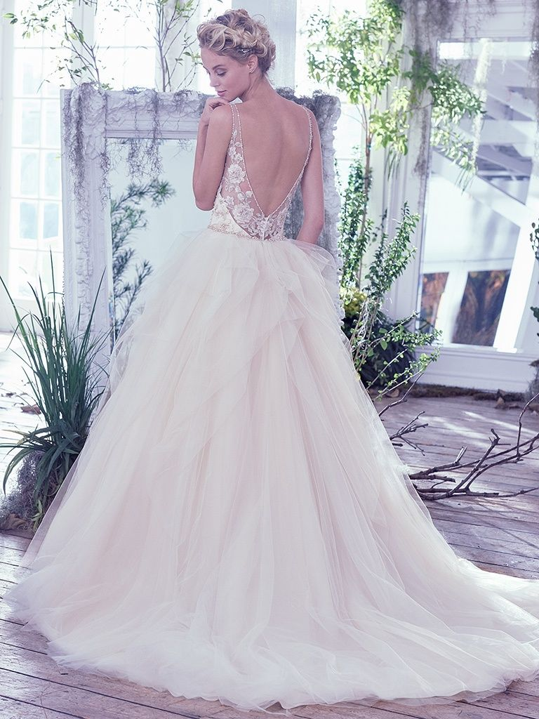 Wedding Gowns Inspired by Fabulous Venues - Carlotta by Maggie Sottero