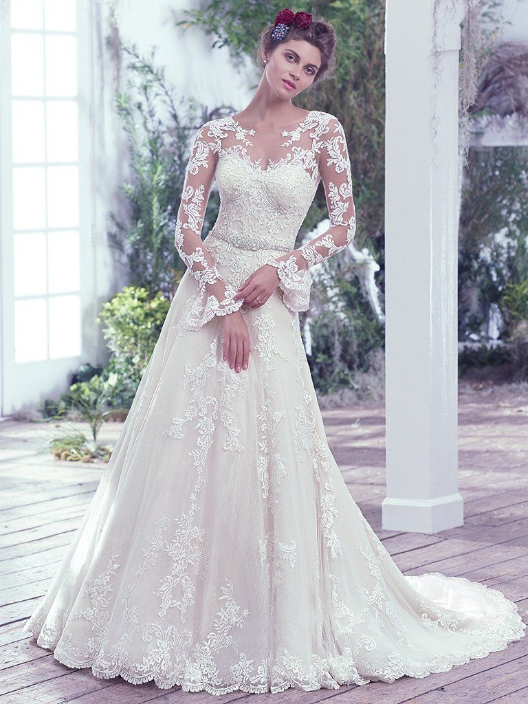 The Seven Types Of Lace Of A Wedding Dress Love Maggie Love Maggie