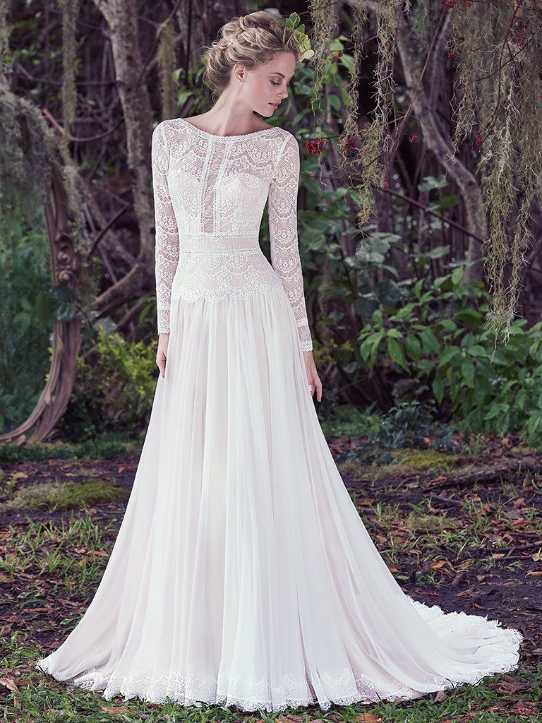 Wedding Dress Trends Through History - Deirdre wedding dress by Maggie Sottero