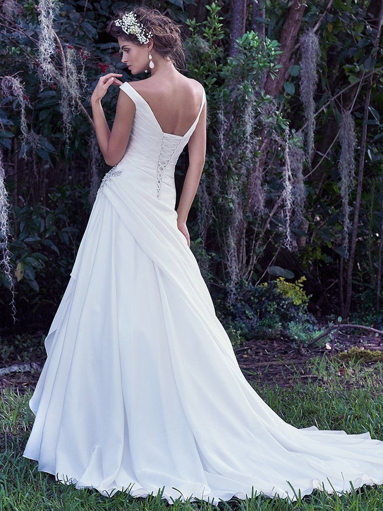 Harper Wedding Dress Bridal Gown Maggie Sottero