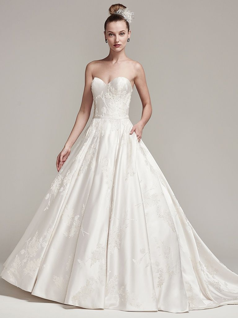 Wedding Gowns that Look Great in Photos - Essex wedding dress by Sottero and Midgley