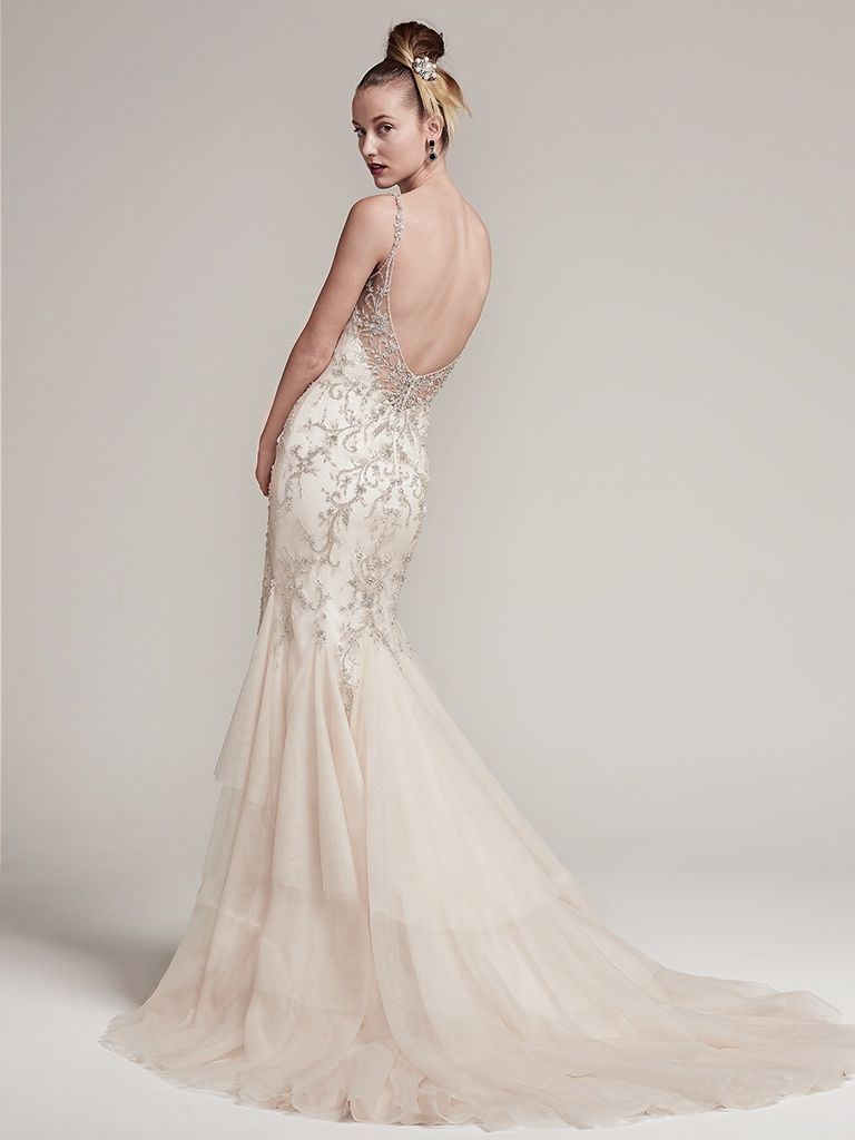 Sottero And Midgley Wedding Dress Erin 6SR858 Back