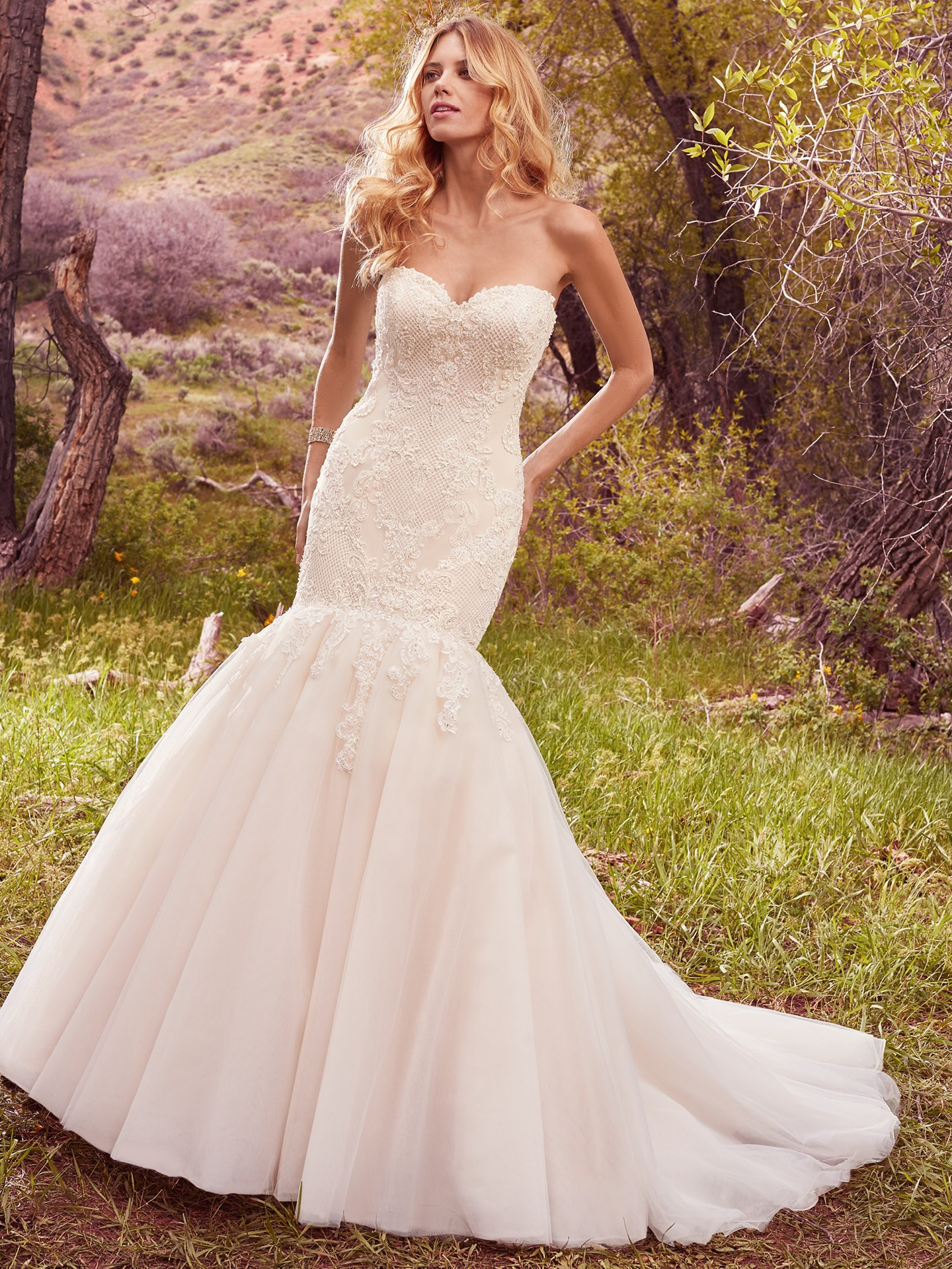Even More Blush Wedding Dresses by Maggie Sottero - Love Maggie ...