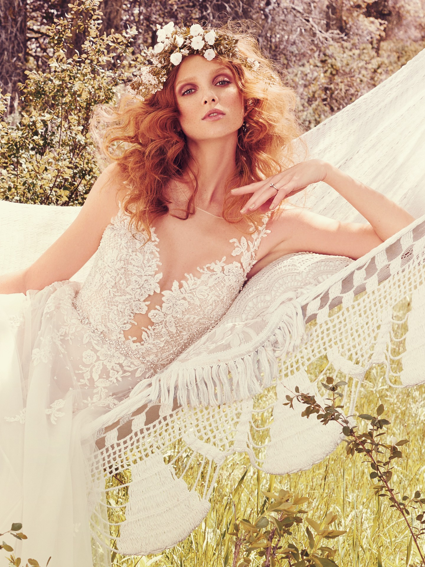 Wedding Gowns that Look Great in Photos - Avery ethereal wedding dress by Maggie Sottero