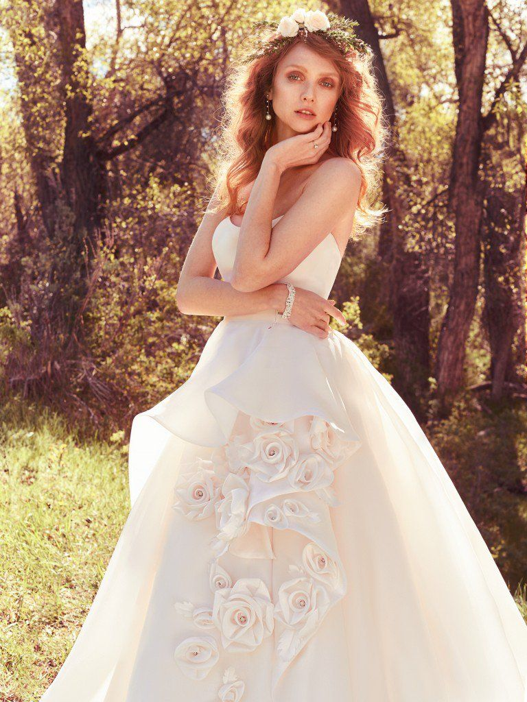 Wedding Dress Trends Through History - Bianca wedding dress by Maggie Sottero