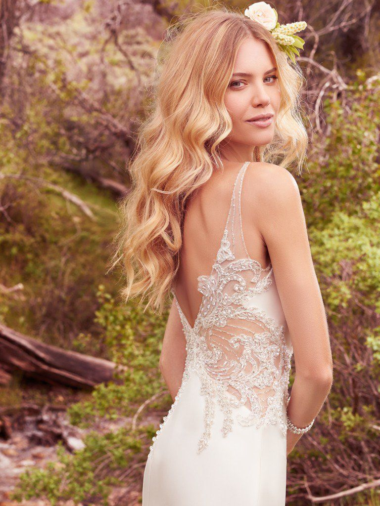 The Skinny On Satin Wedding Dresses - Josette satin wedding gown by Maggie Sottero