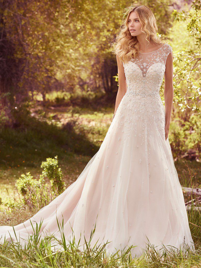 A-line wedding dresses by Maggie Sottero, Sottero and Midgley and Rebecca Ingram - Freesia by Maggie Sottero