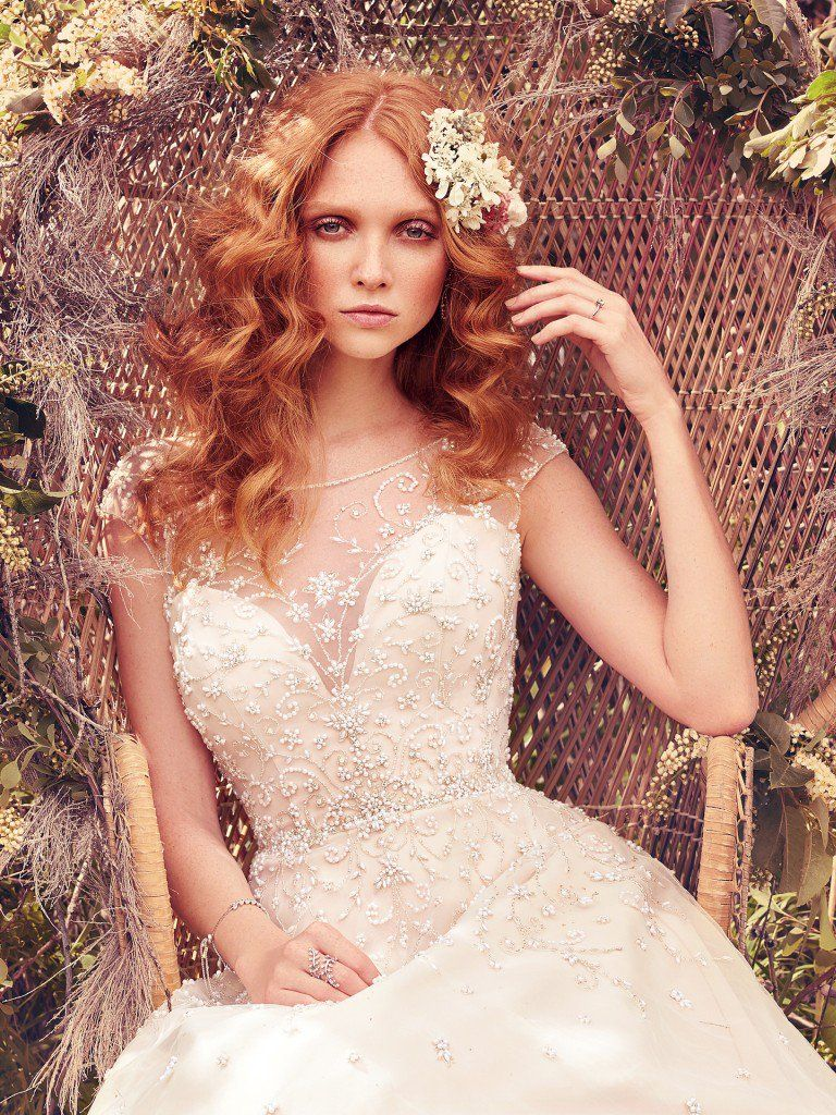 Wedding Gowns that Look Great in Photos - Freesia wedding dress by Maggie Sottero