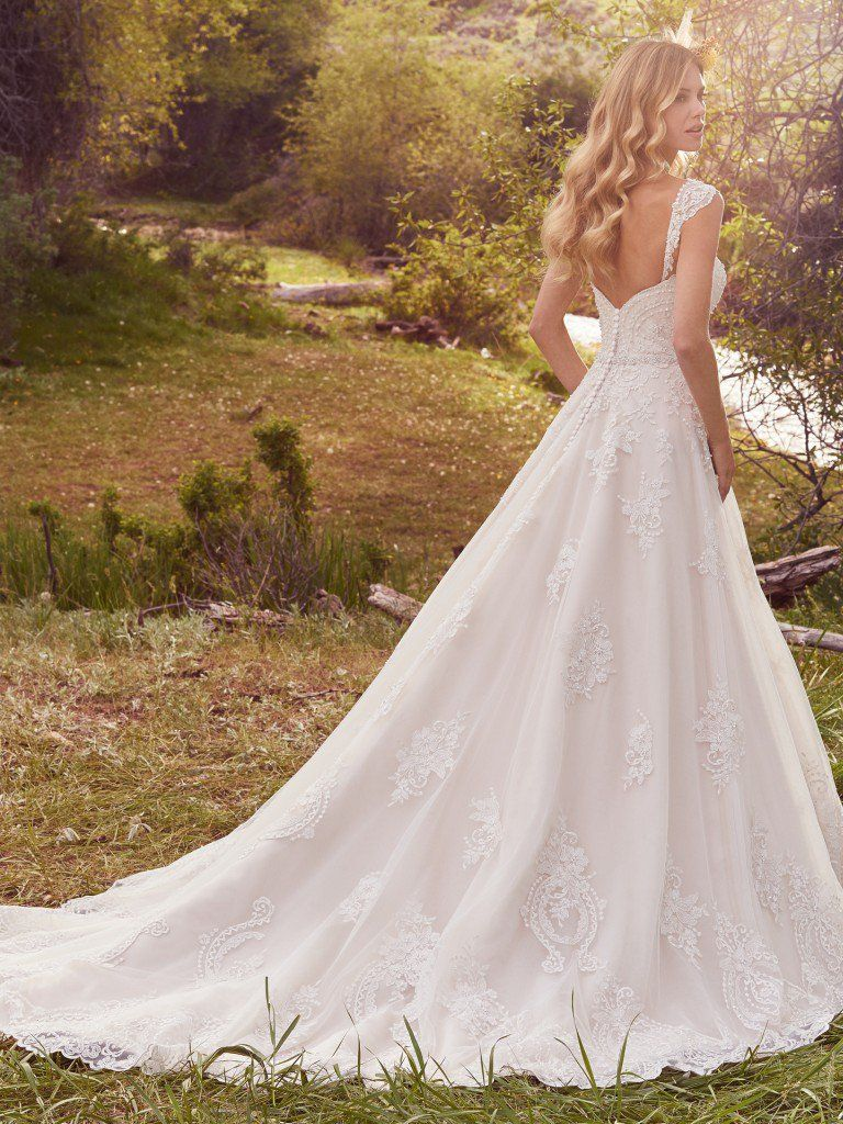 Arden wedding dress by Rebecca Ingram