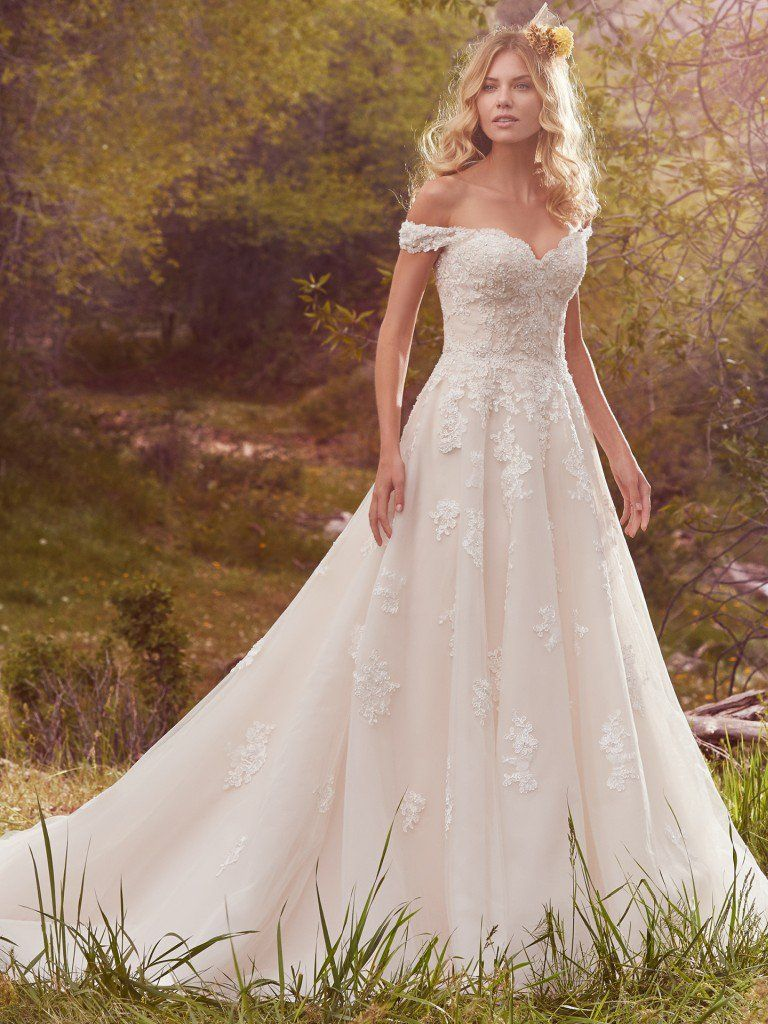 Maggie Sottero Wedding Dress Saffron 7mt361