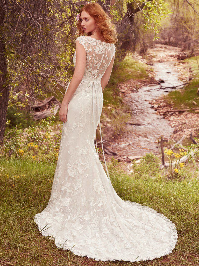 Lightweight Gatsby Gowns for a Summer Wedding - Lightweight Gretchen wedding dress by Maggie Sottero