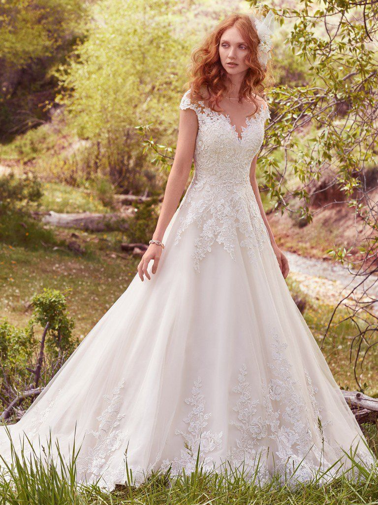 Finding the Perfect Dress for Your Body Type - Lena by Maggie Sottero