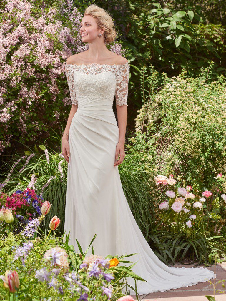 6 Best Wedding Dresses for a Rustic Wedding - Linda wedding dress by Rebecca Ingram
