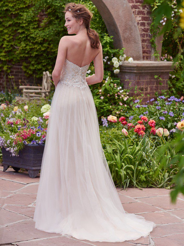 Chelsea wedding dress by Rebecca Ingram