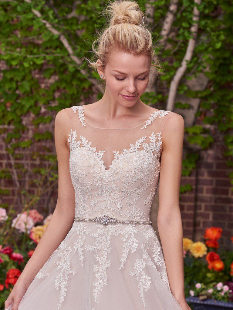 The Top-Pinned Rebecca Ingram Wedding Dresses in 2016 - Olivia wedding dress by Rebecca Ingram