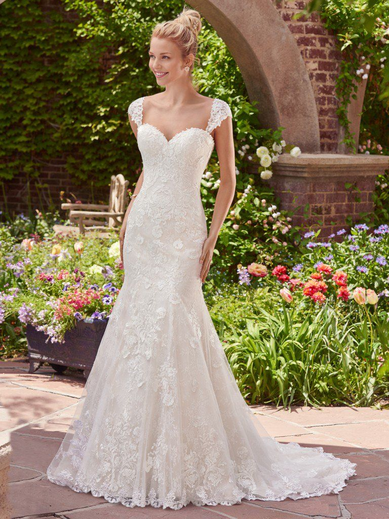 Traditional Lace Wedding Dresses - Brenda by Rebecca Ingram