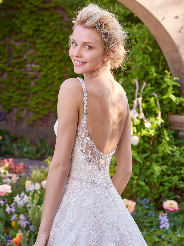Rebecca Ingram's Allison Wedding Dress