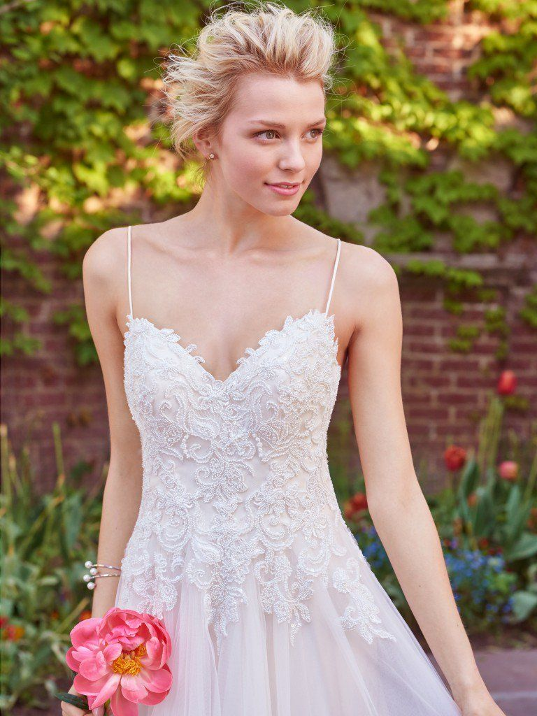 Wedding Gowns Inspired by Fabulous Venues - Marjorie by Rebecca Ingram