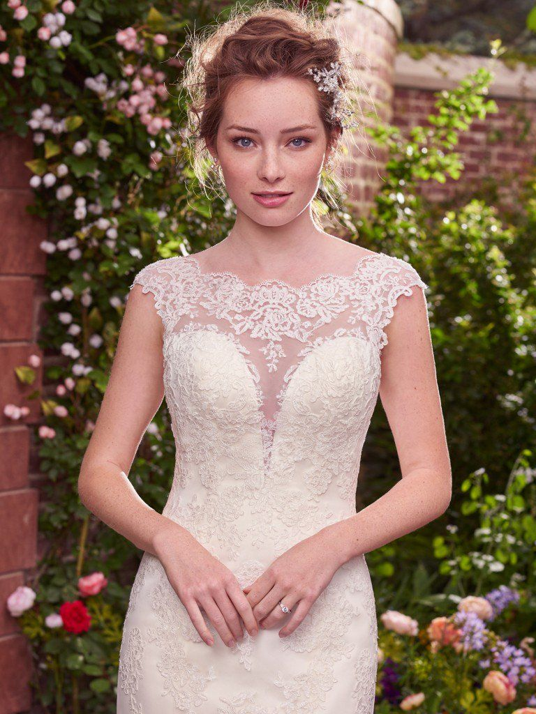 Wedding Dress Trends Through History - Julie wedding dress by Rebecca Ingram