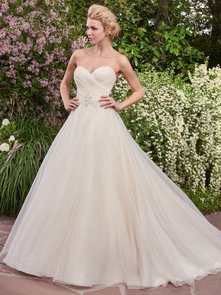 Organza wedding dress Arden by Rebecca Ingram