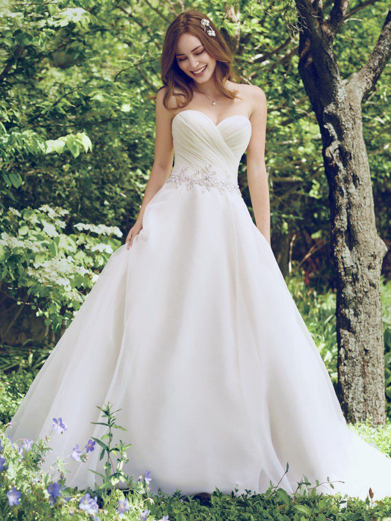 Wedding Dress Trends Through History - Arden wedding dress by Rebecca Ingram