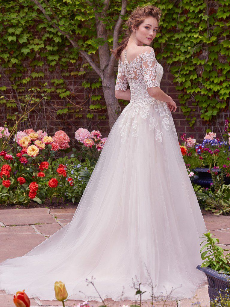 The Top-Pinned Rebecca Ingram Wedding Dresses in 2016 - Yvonne wedding dress by Rebecca Ingram