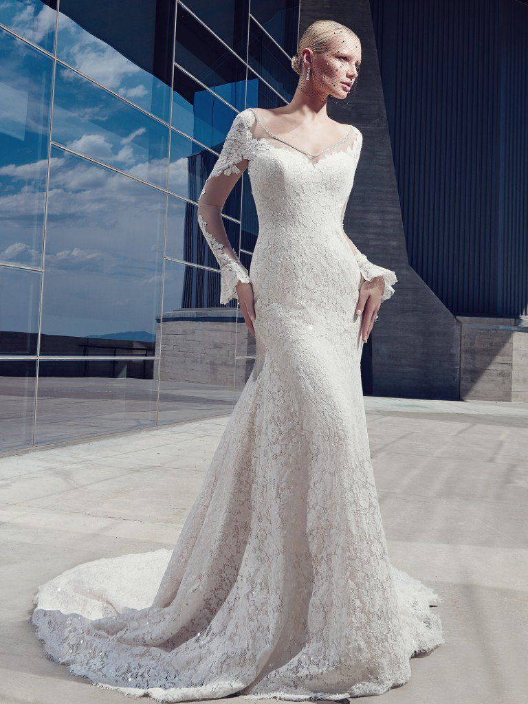 11 Wedding Dress Trends to Get You Excited for 2017 - Malone by Sottero and Midgley