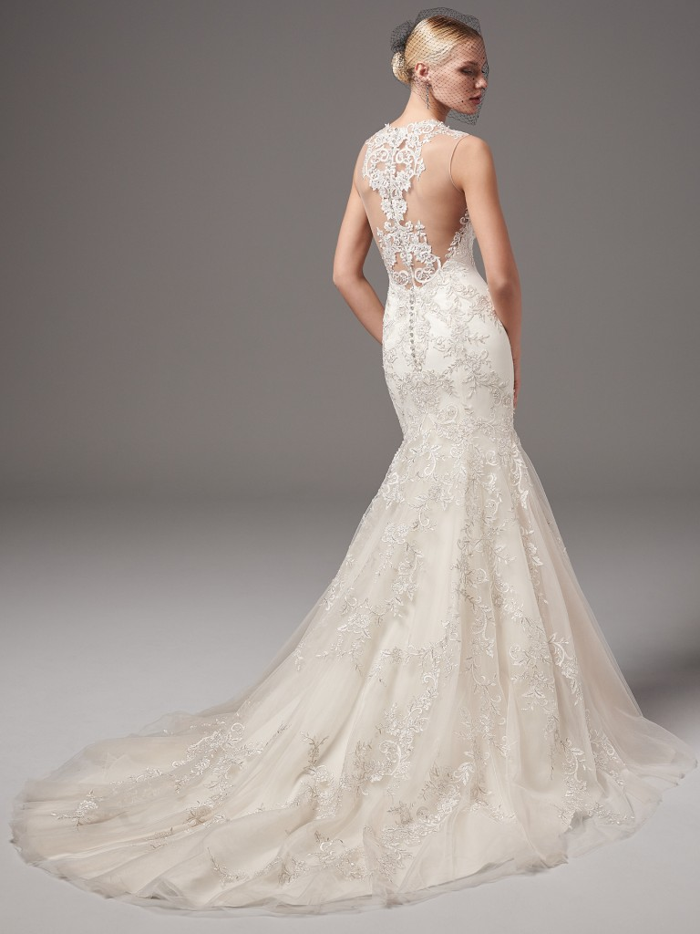 Find embellished lace wedding dresses from Maggie Sottero - Bronson by Sottero and Midgley