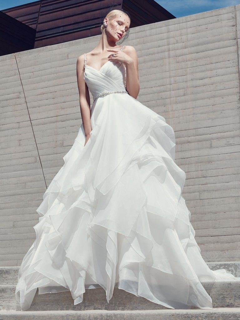 Wedding Dress Trends Through History - Blaire wedding dress by Sottero and Midgley