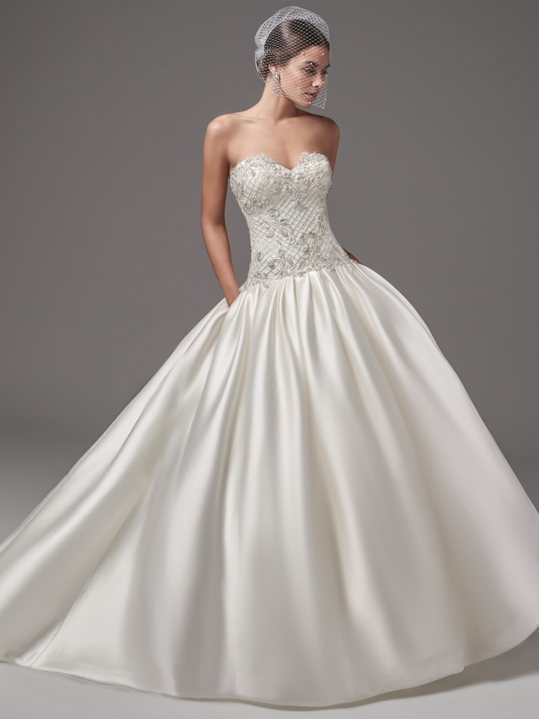 Wedding Dress Trends Through History - Hampton wedding dress by Sottero and Midgley
