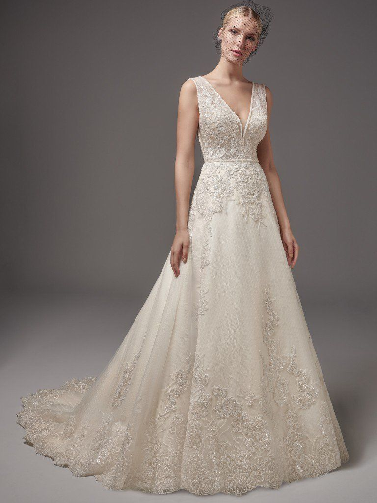 More Second Looks for Your Ceremony and Reception - Alba wedding dress by Sottero and Midgley