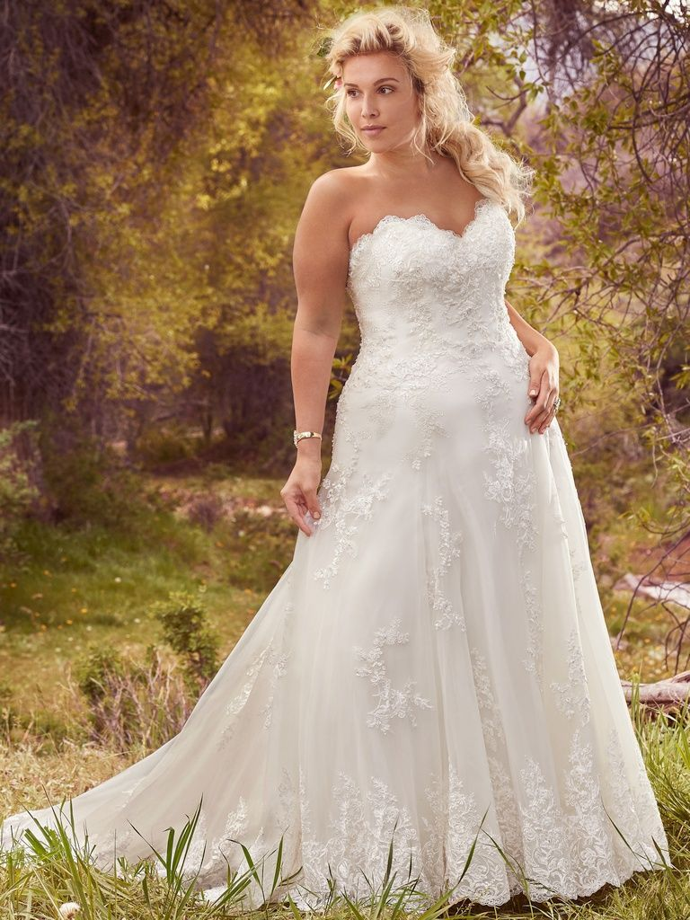 Traditional Lace Wedding Dresses - Laverna by Maggie Sottero
