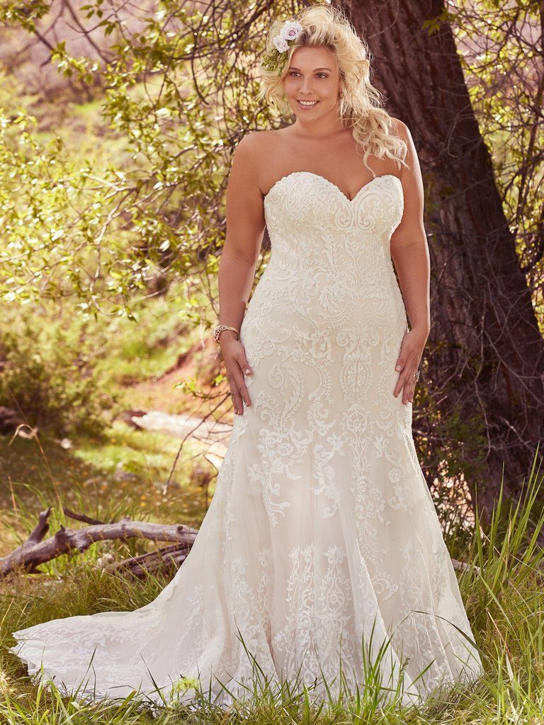 Flattering Wedding Dresses for Curvy Brides - Love Maggie : Love ...