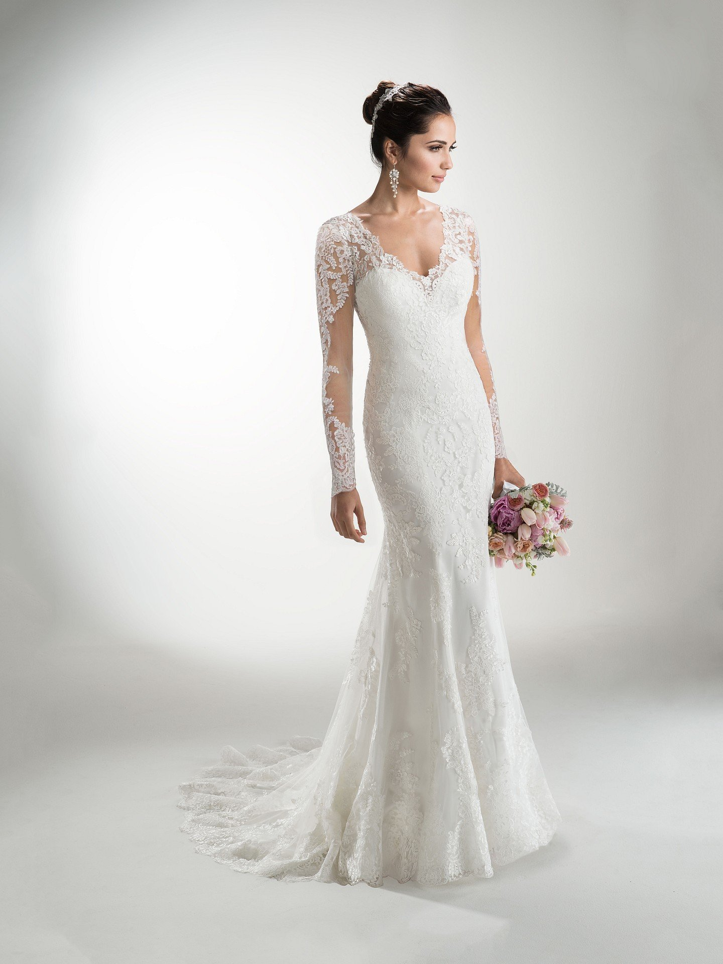 Favorite Sleeved Wedding dresses - Classic romantic gown with sleeves Melanie Marie by Maggie Sottero