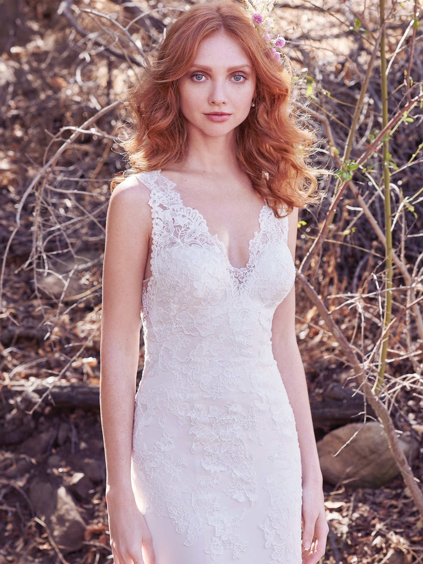 Even more blush wedding dresses by maggie sottero love maggie ramona blush wedding dress this soft sheath wedding dress features cascades of heirloom inspired junglespirit Choice Image