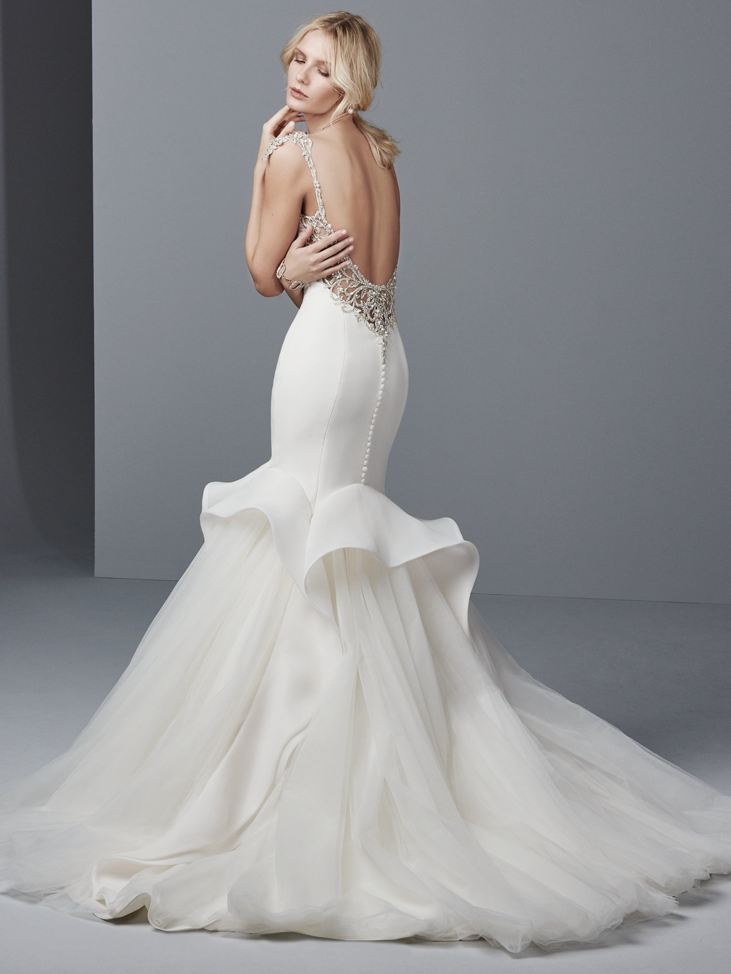 Organza wedding dress Raquelle by Sottero and Midgley