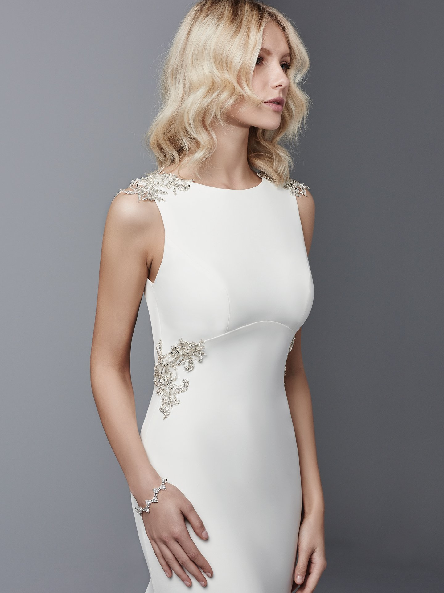 Satin wedding dress Noah by Sottero and Midgley