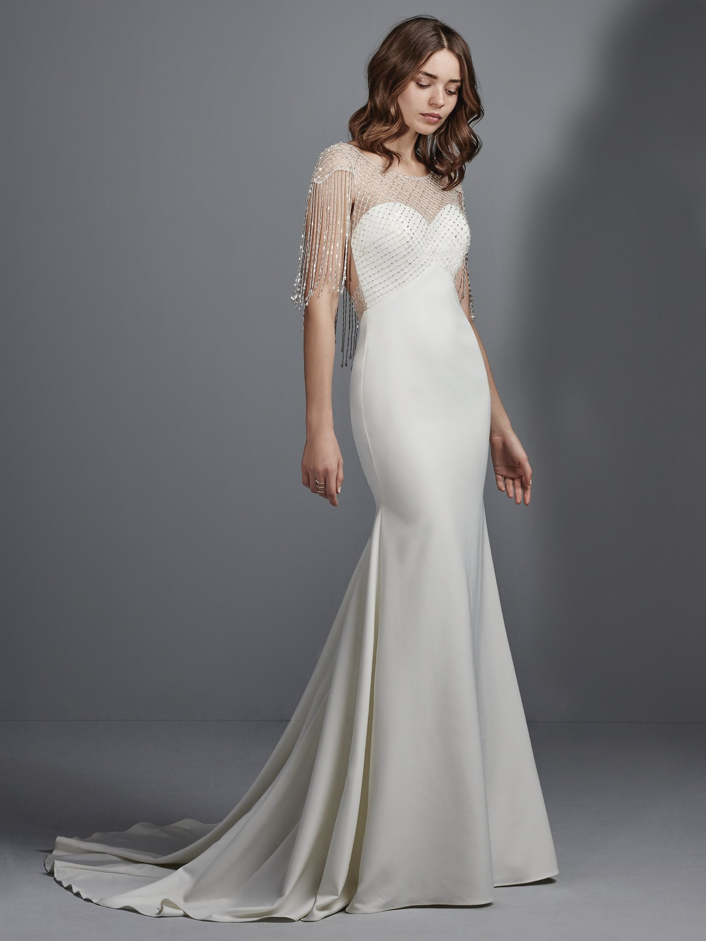 Satin wedding dress Liam by Sottero and Midgley