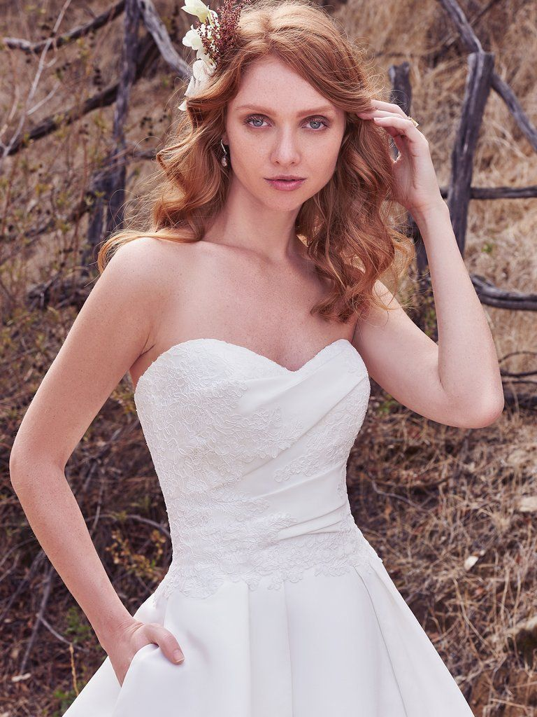 Simple Satin Wedding Dresses - Love Maggie : Love Maggie