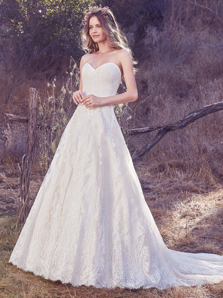 Hot international gown trends - Olea by Maggie Sottero