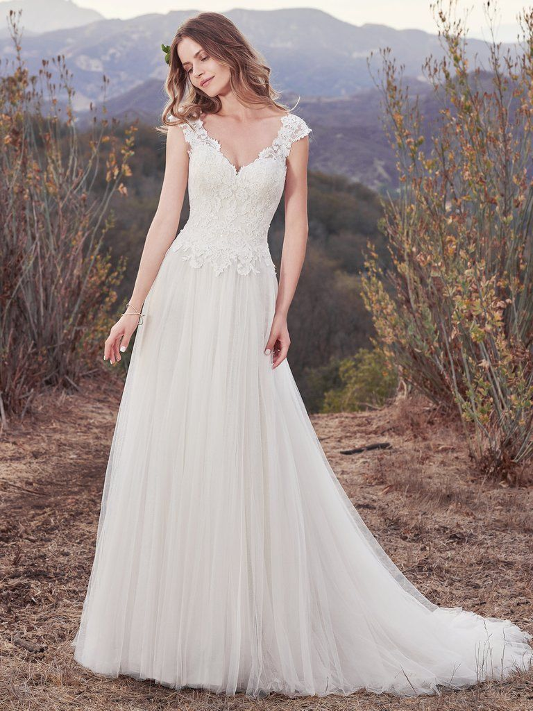 dcbe4909f0e3 Hensley Wedding Dress Bridal Gown | Maggie Sottero