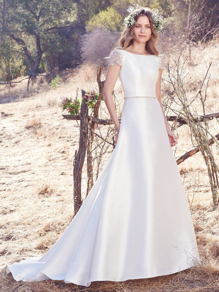 Wedding Gowns that Look Great in Photos - Talin wedding dress by Maggie Sottero