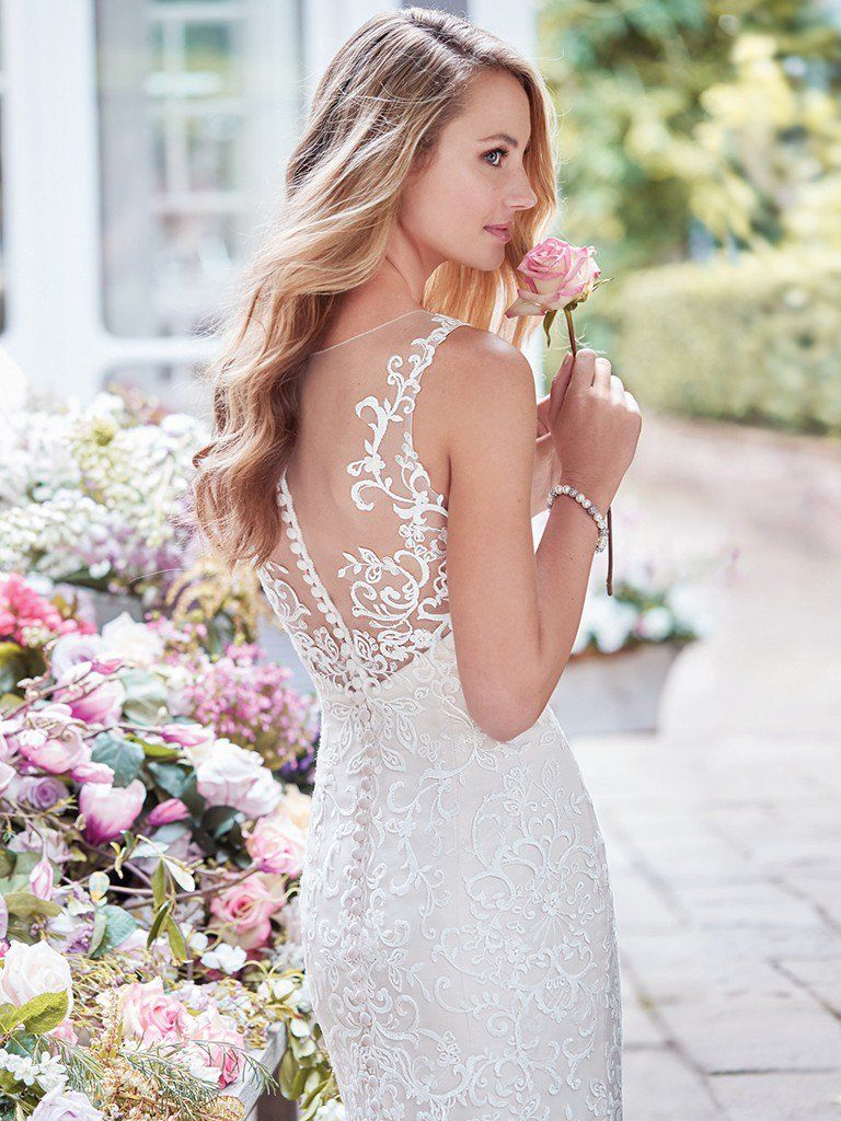 Wedding Gowns that Look Great in Photos - Adrian wedding dress by Rebecca Ingram