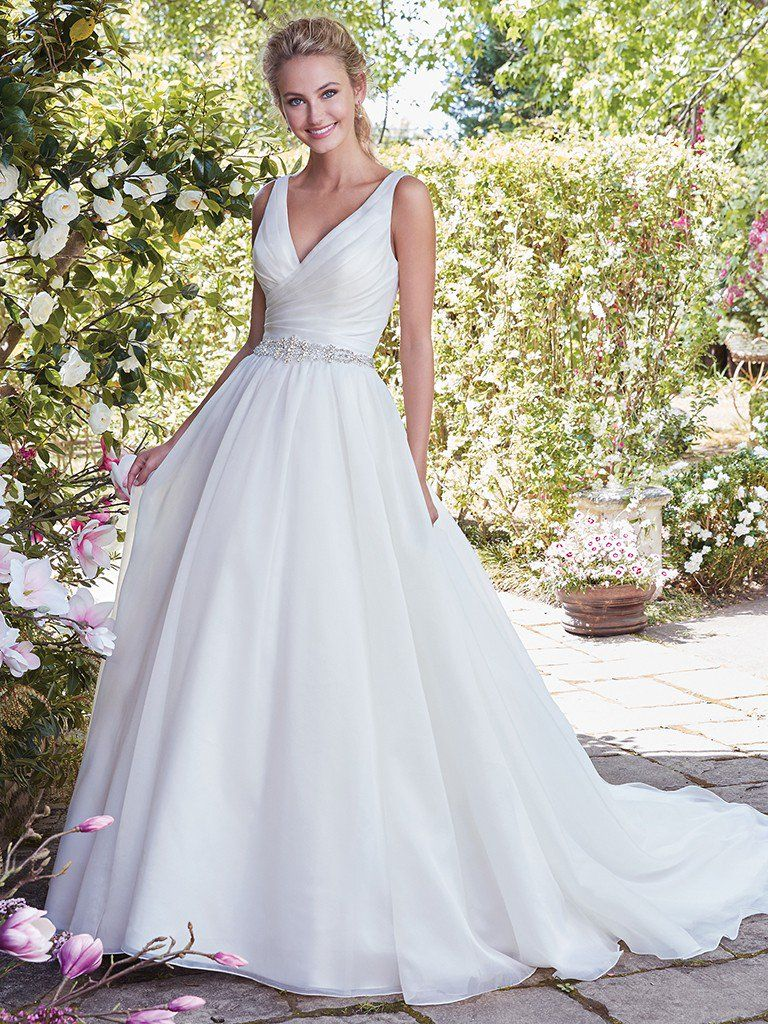 Wedding Gowns that Look Great in Photos - Karen wedding dress by Rebecca Ingram