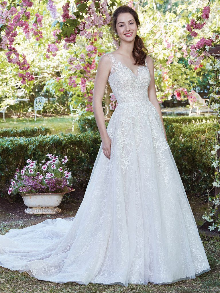 10 Boho Wedding Dresses by Rebecca Ingram - Well hello there, layered lace! Ruth by Rebecca Ingram.