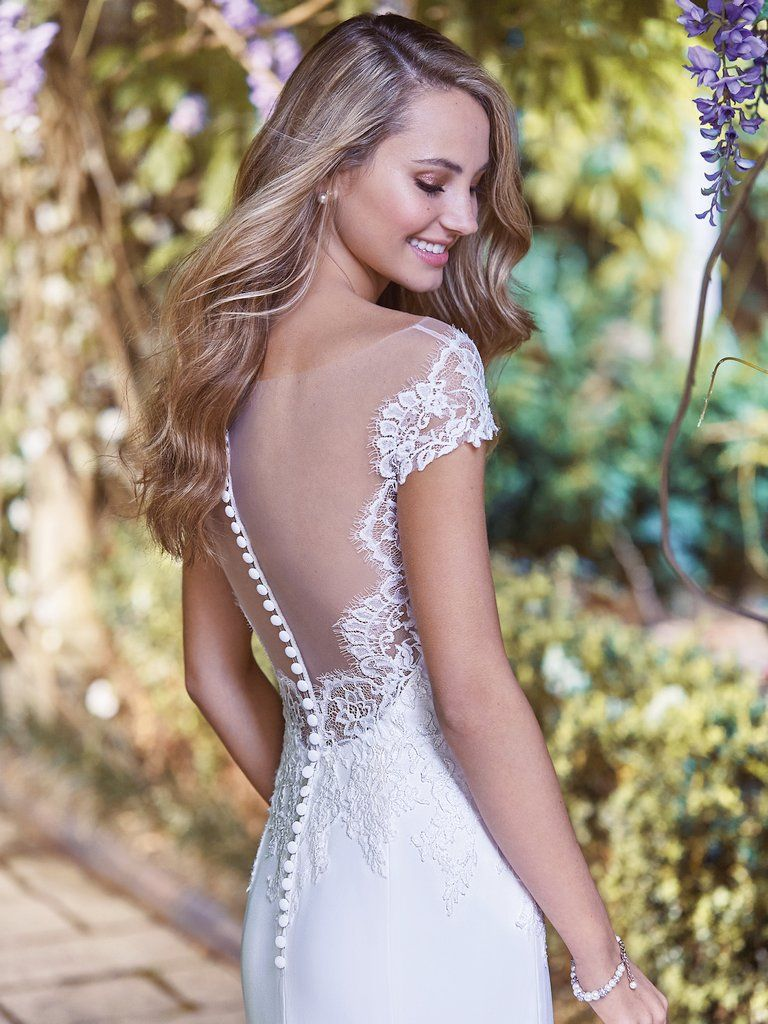 10 Boho Wedding Dresses by Rebecca Ingram - We'll take our boho sultry, and not too sweet. Naomi by Rebecca Ingram.