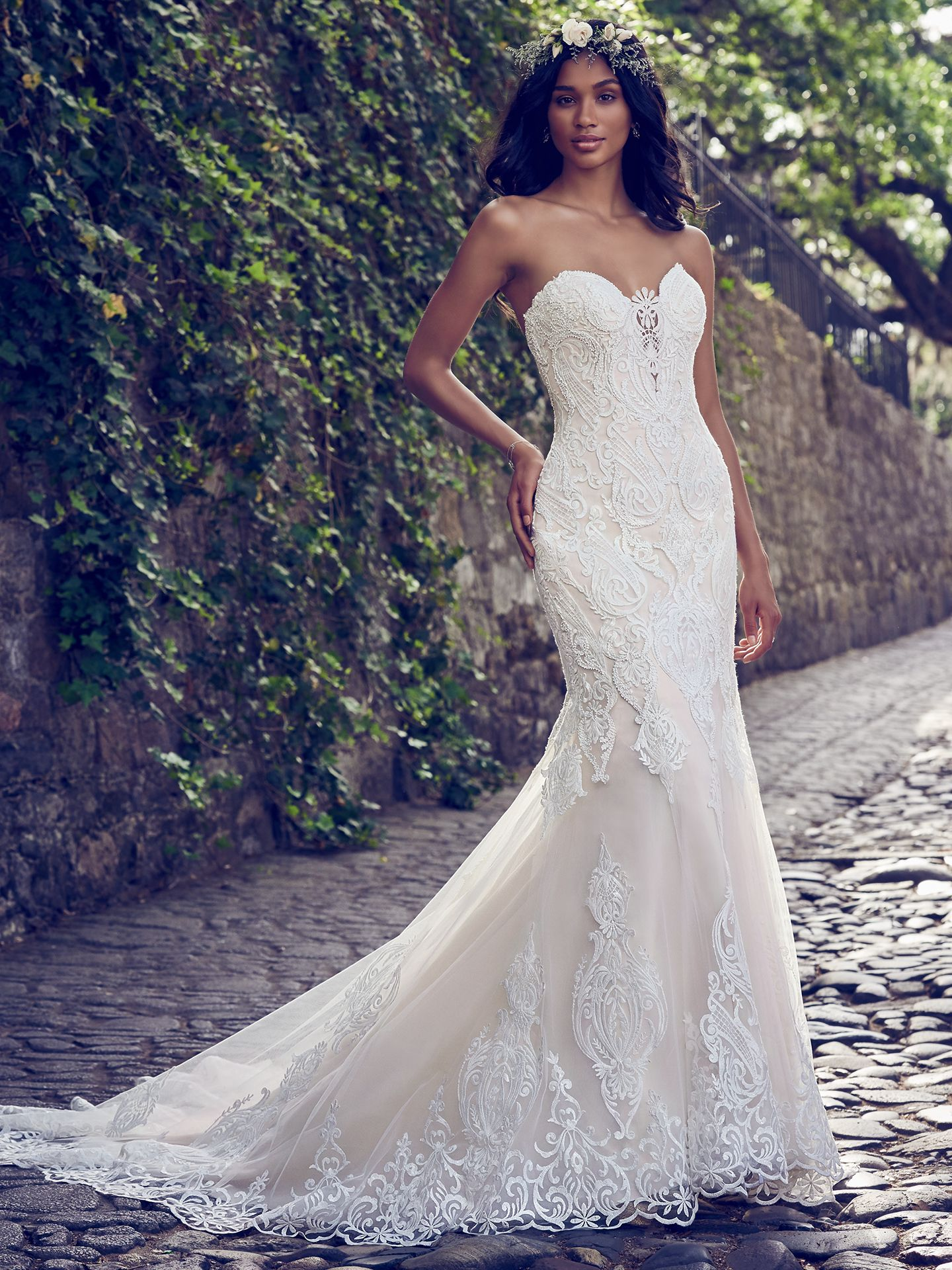 Quick Delivery Wedding Dresses For Your Uping Autumn By Maggie Sottero: Simple Fall Themed Wedding Dresses At Websimilar.org