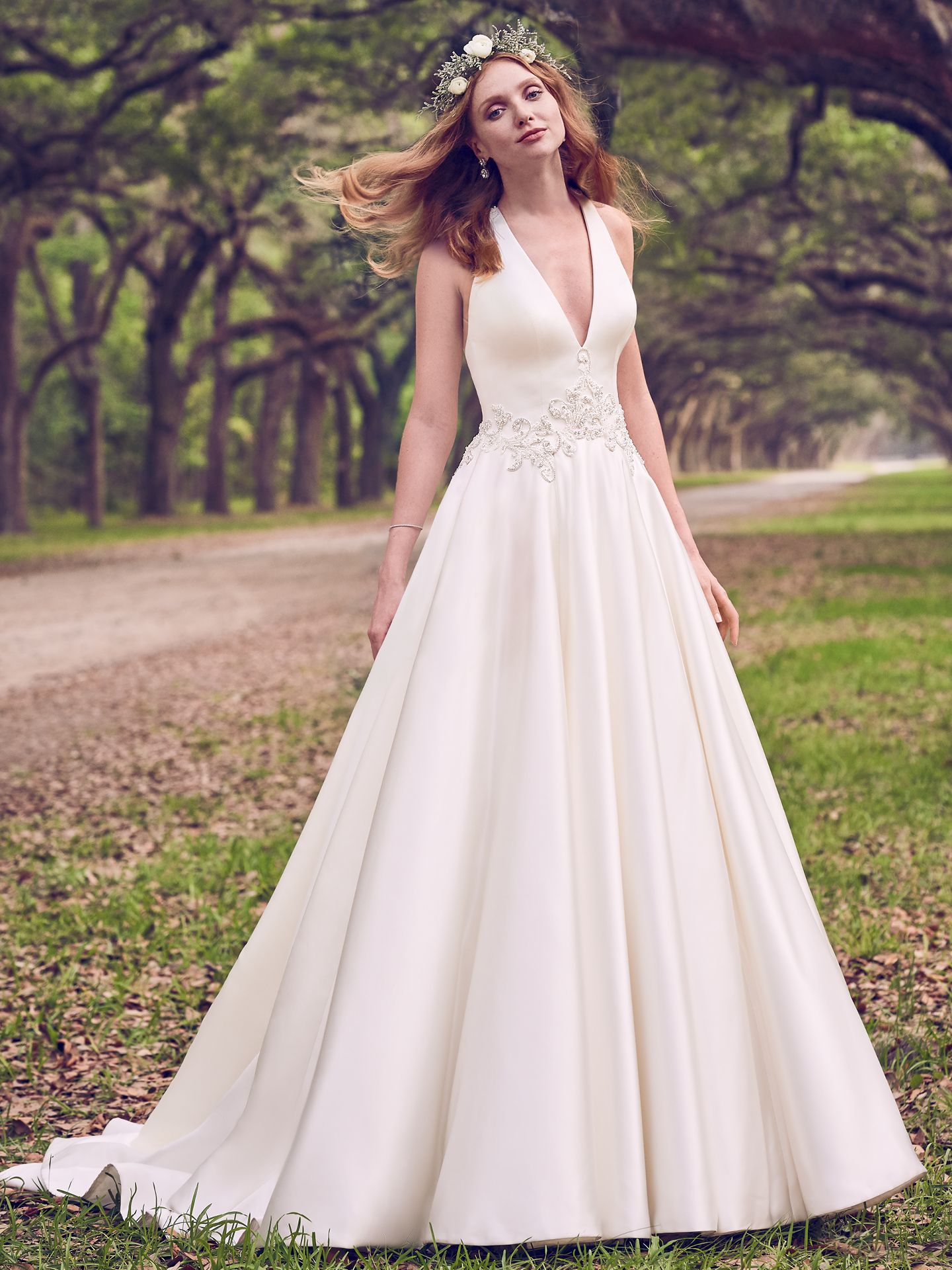 Famous Weddings Throughout History - For a formal and romantic wedding day look, try our Corianne by Maggie Sottero